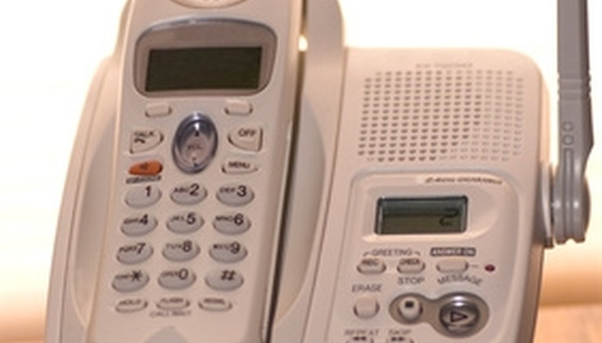 The first cordless phones were dependent upon frequency ranges.