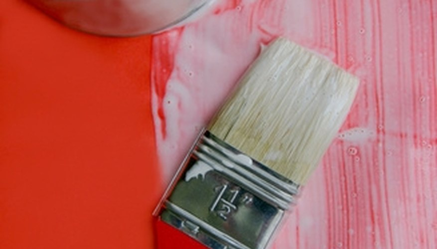 Decoupage medium is a form of clear glue sealant made for paper preservation.