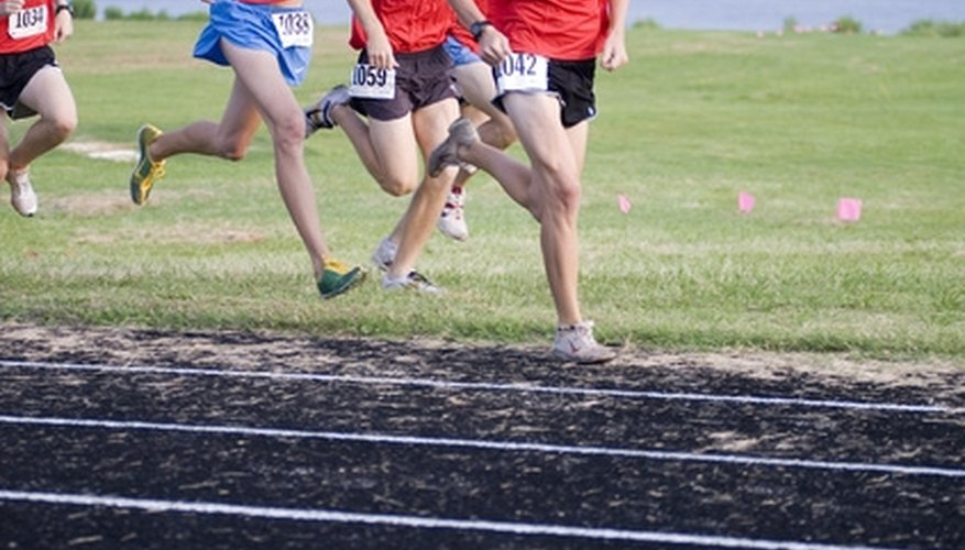 A track coach must plan workouts for athletes in a variety of events.
