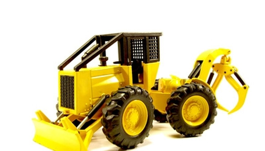 Smaller loaders are called compact loaders.