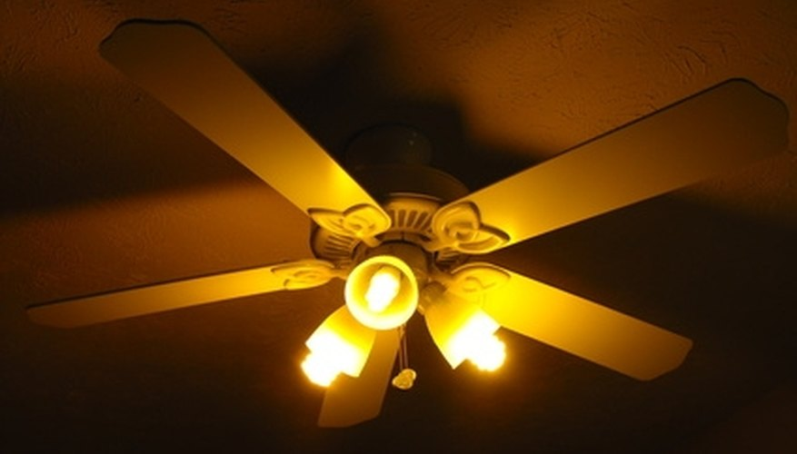 When installing ceiling fans, pay close attention to the fan blade layout.