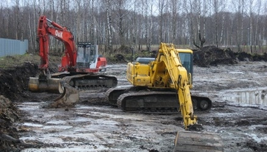 Grading is an application requiring a special excavator bucket.