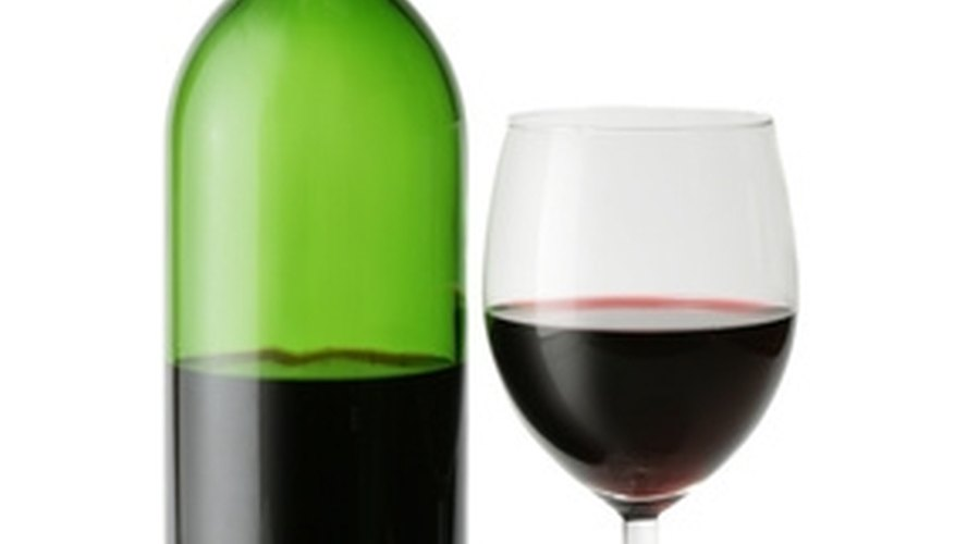 Red wine is a common red-colored clothing stain.