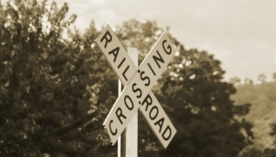 Iowa law exempts unauthorized passage over a railroad right-of-way under certain conditions.