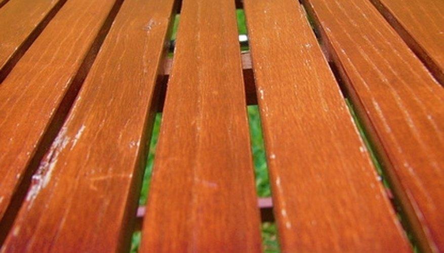 A glossy deck