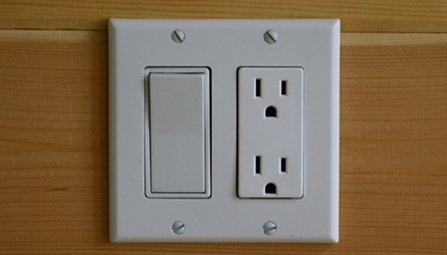 Light switches and electrical outlets must be within reach of someone in a wheelchair.