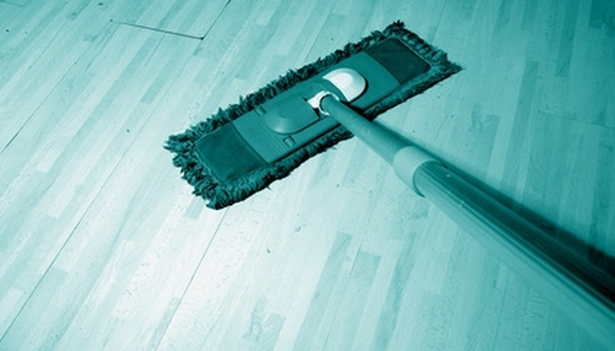 Clean the floor thoroughly.