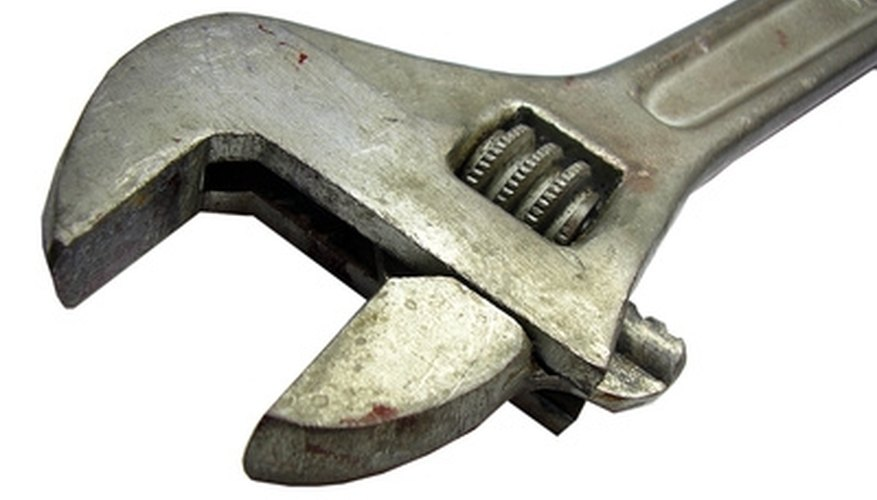 A small adjustable wrench is the ideal tool for tightening Quest fittings.