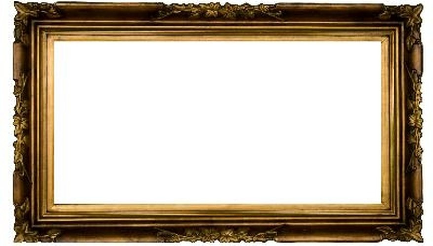 Add an antique frame, and your bulletin board is suddenly a piece of art.