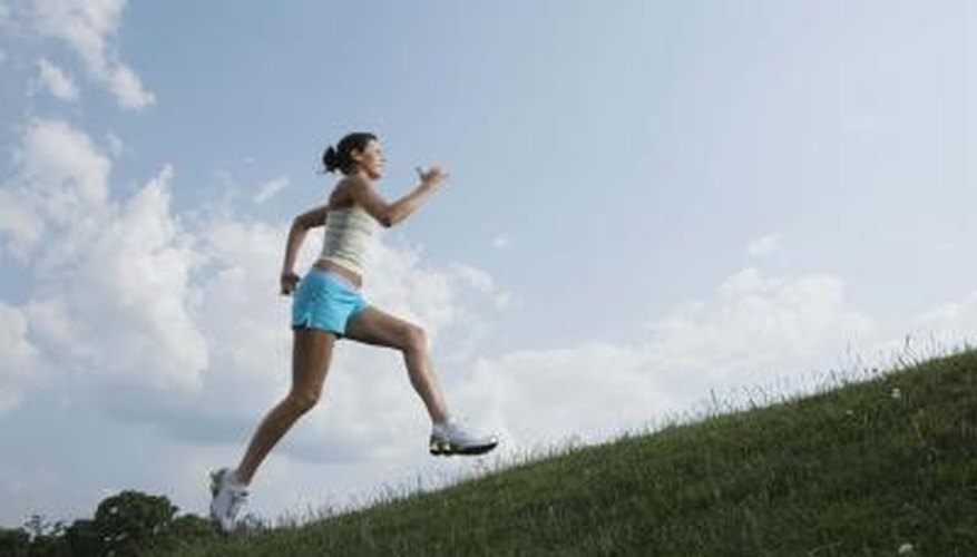 Jogging expends energy and declutters the mind.
