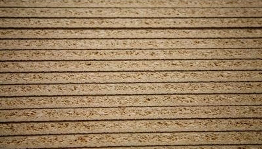 Plywood siding is easy to install.