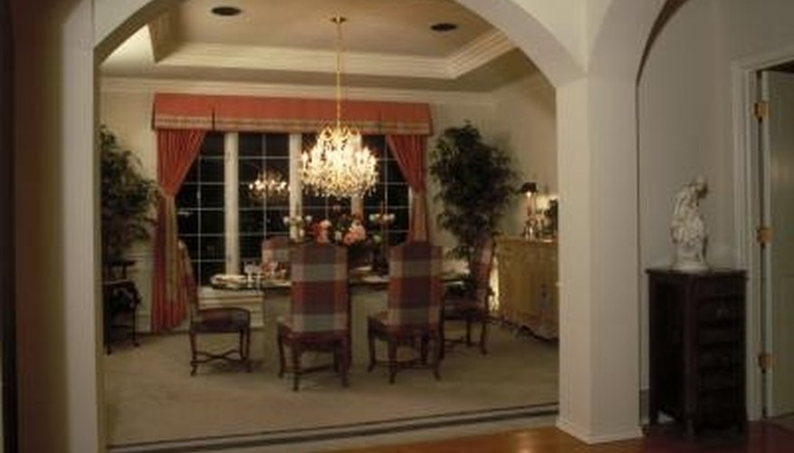 A properly sized chandelier will provide good illumination over the table.