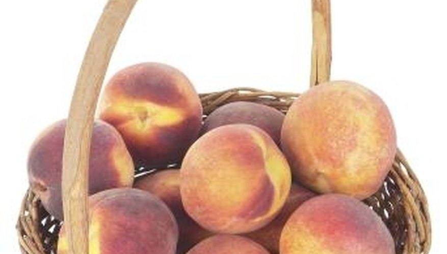 Yellow-flesh peaches are both sweet and acidic.