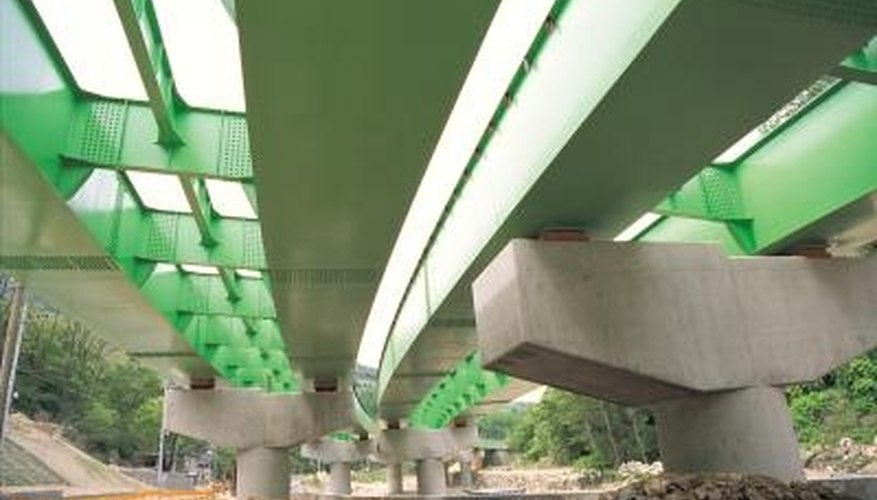 Tube forms are used in a variety of applications, including highway overpasses.