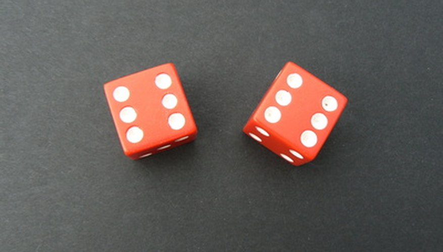 Two dice are required to play the game.