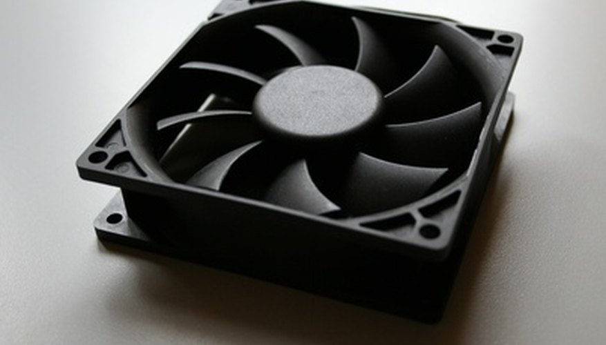 The purpose of any fan is to dissipate heat by drawing air over a surface.
