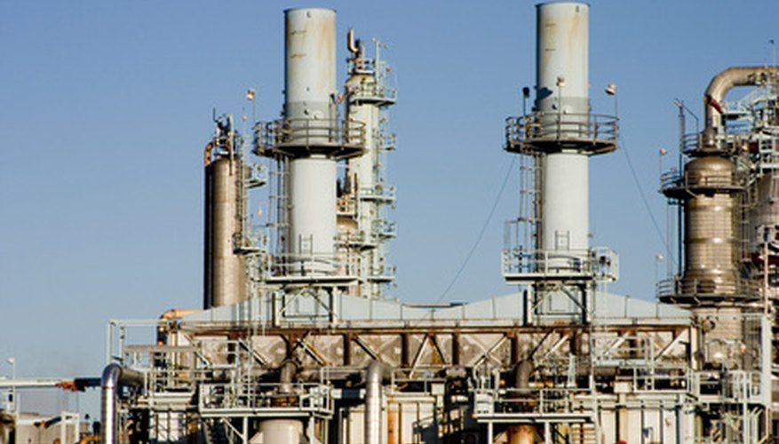 Oil refining is a form of distilling