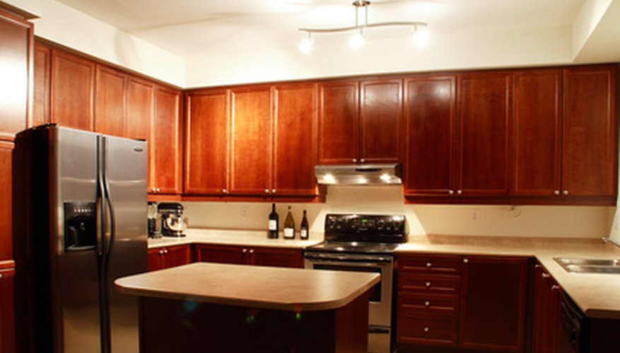 Look for less expensive counter top materials to keep costs down.