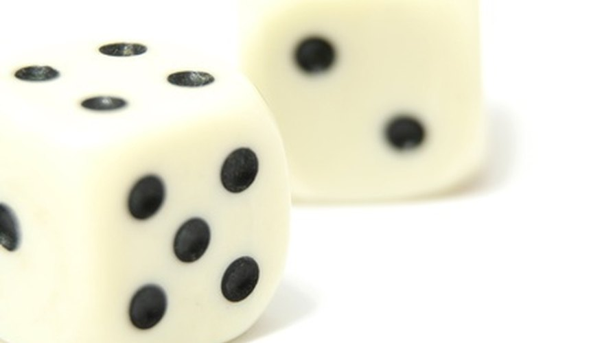 People played with dice before numbers were written.
