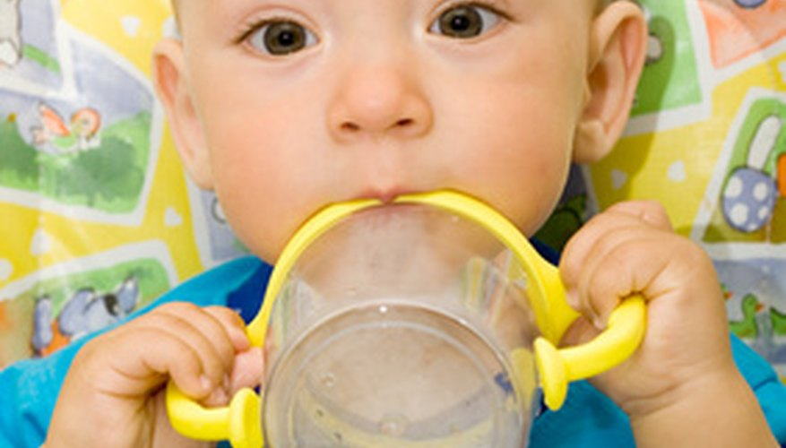 A sippy cup can contribute to illness if not properly sterilized.