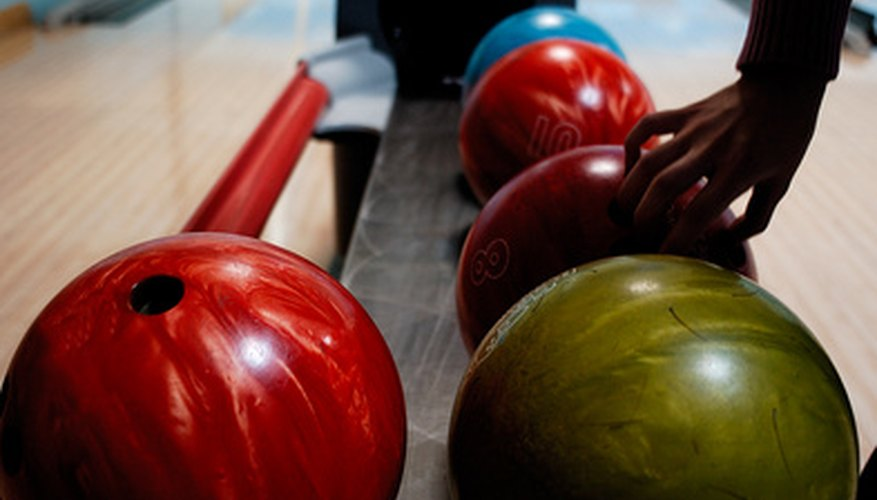 Bowling pro shops feature a good selection of bowling balls and other gear.