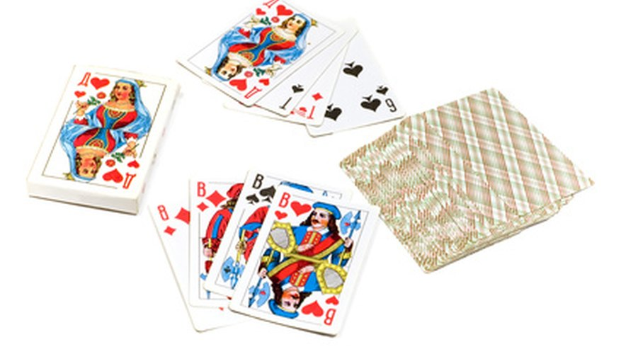 A deck of cards provides a myriad of game possibilities.