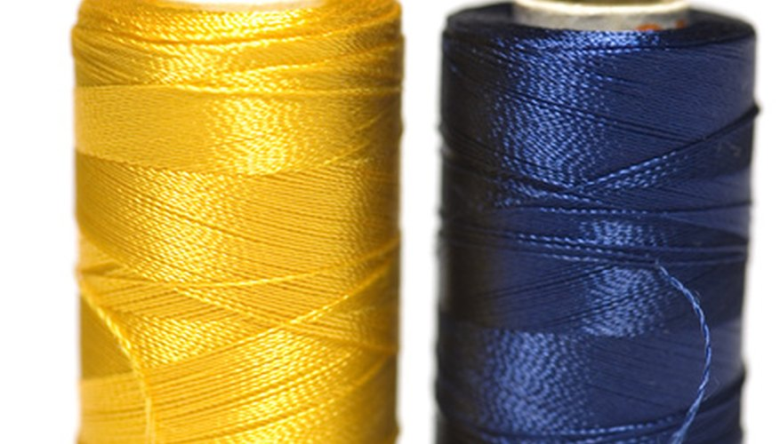 Find thread color substitutes with a conversion chart.