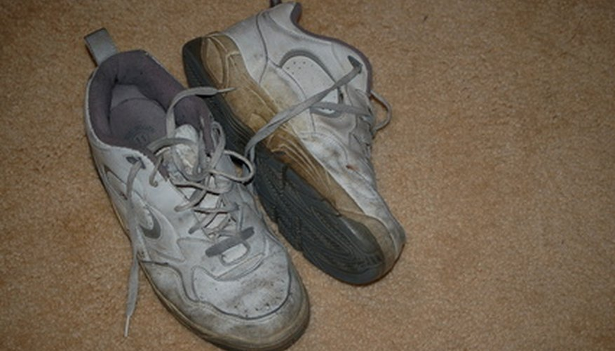 Turn your old shoes into homemade hover shoes.
