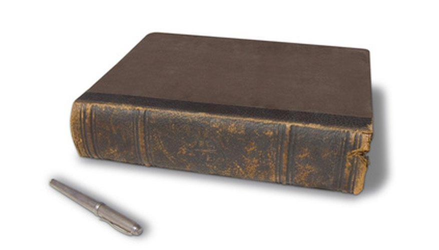 Care for your leather books so they do not fall prey to red rot.