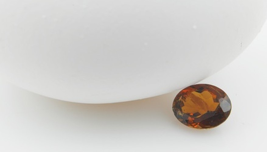 Deep red to black is one of the color combinations for garnets.