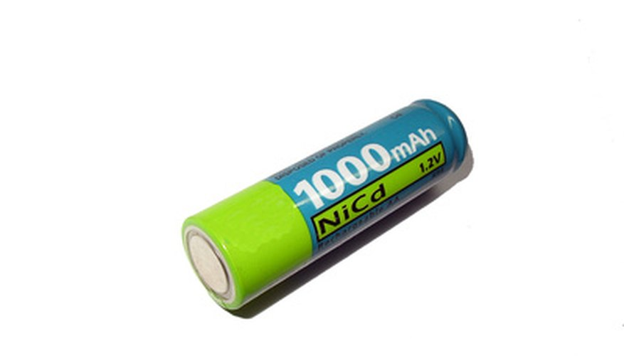 Batteries have an electric potential between their terminals.