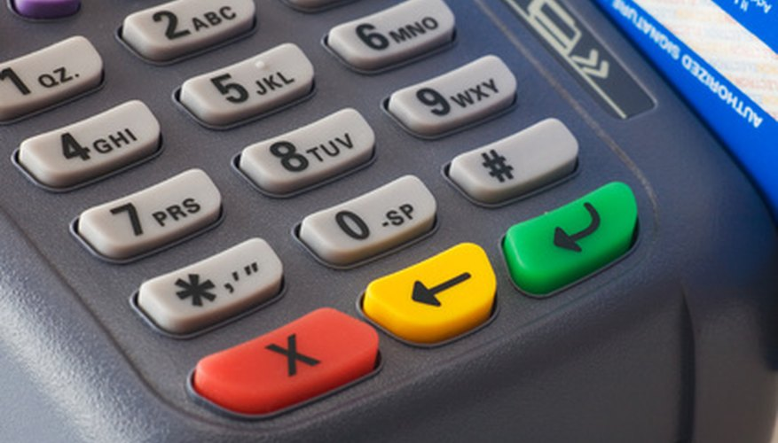 To find your merchant account number, start by checking for a sticker on your terminal.