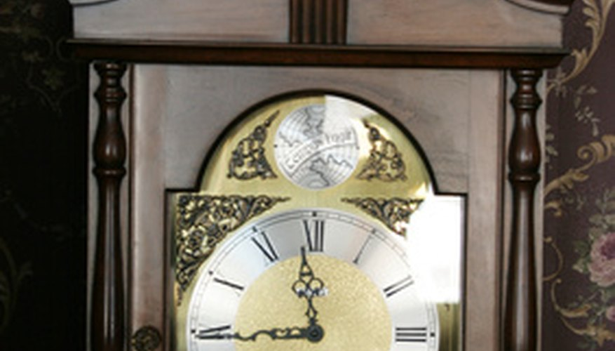 Grandfather clocks can last for years if repaired and properly cared for.
