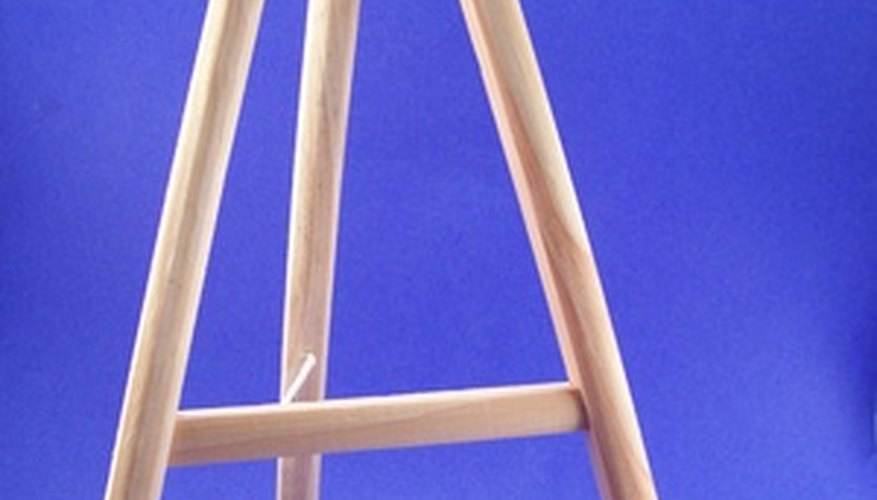 Make a simple easel.