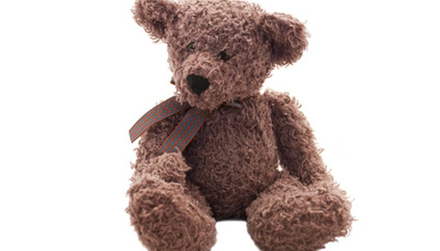 Plastic joints can also be used on stuffed animals.