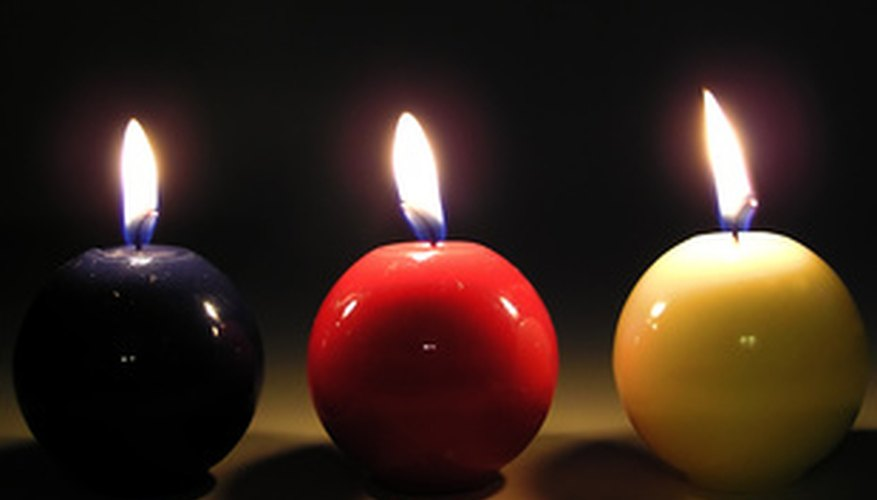 Customizing candles can make great holiday gifts for friends and family.