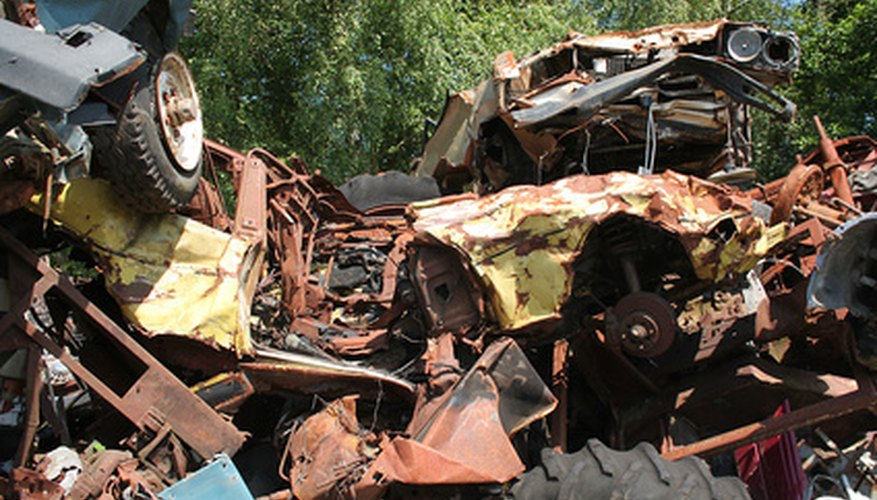 Selling scrap metal is a lucrative business.