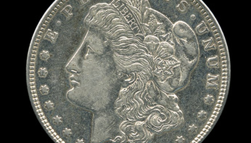 The U.S. Mint struck the Morgan silver dollar design from 1878 to 1904 and once more in 1921.