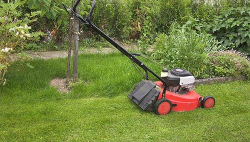 Portable generators use adapted lawn mower engines.