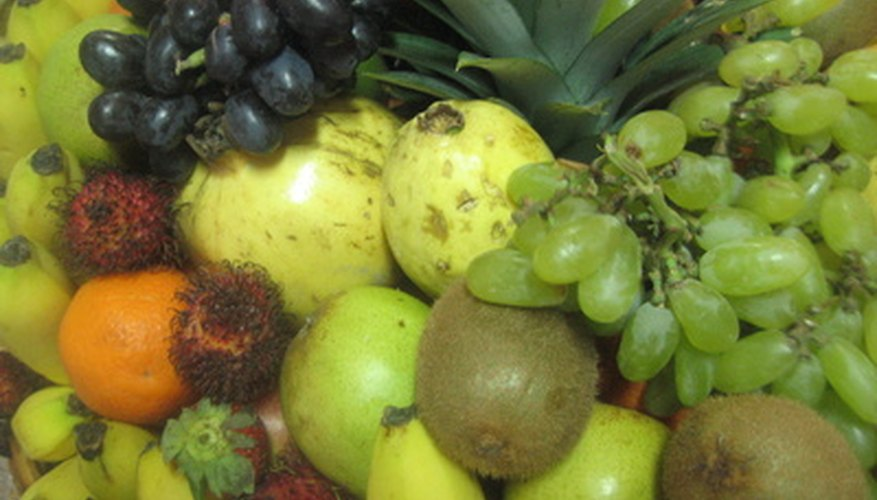 Choosing different colors of fruit helps ensure you get the most benefit from phytonutrients.