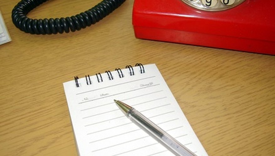 Handling telephone calls properly is a normal office procedure.