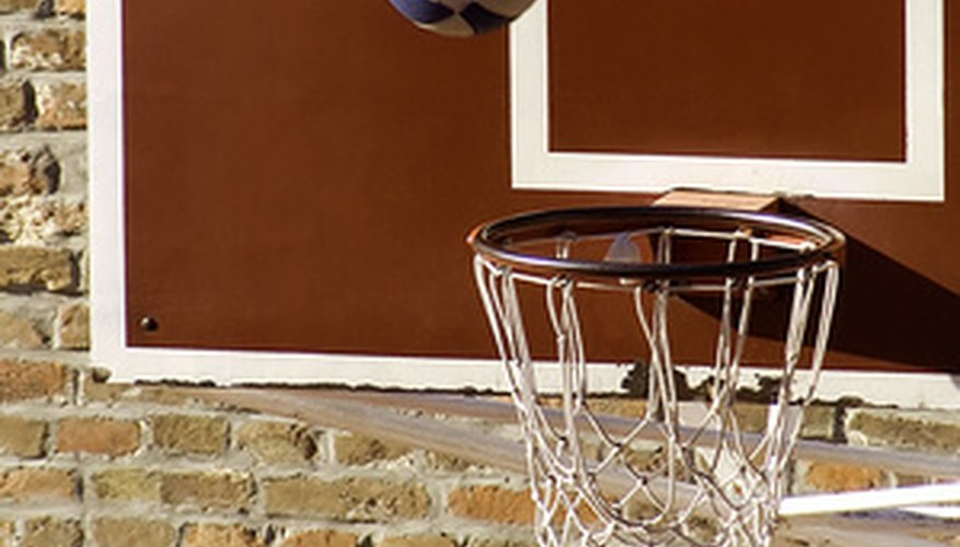 During a free throw, players must wait until the ball hits the rim.