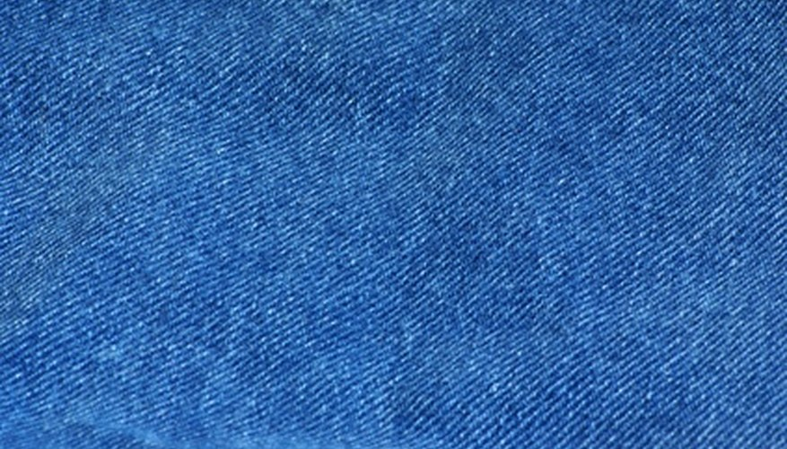 Denim is a very well known twill, recognizable by the diagonal pattern of weave.