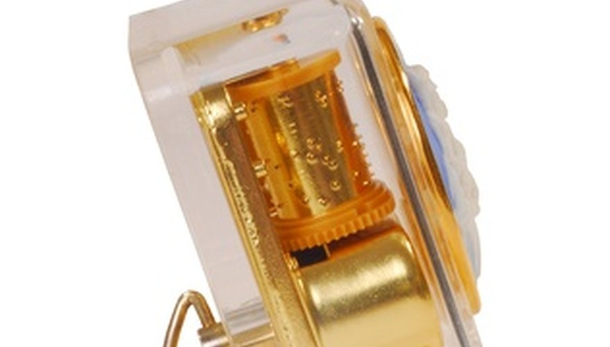 Overwinding, temperature changes and other factors can negatively affect music boxes.