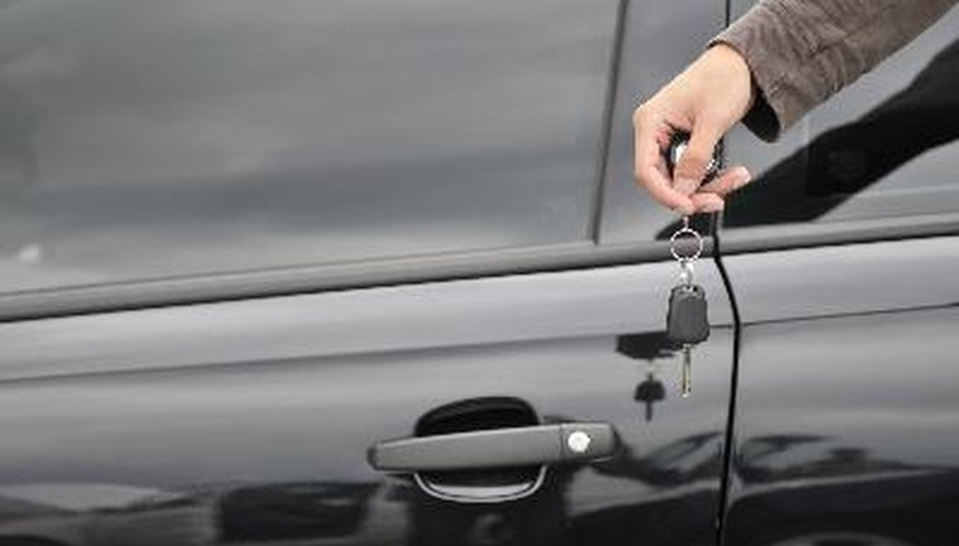 Before handing over your keys, make sure to fill out the title.