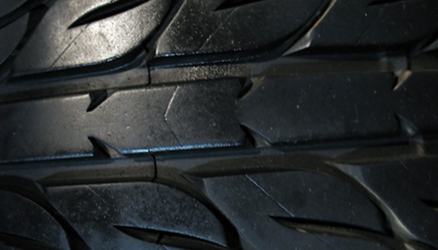Replacement rubber bicycle tires will keep your Power Wheels vehicle from slipping.