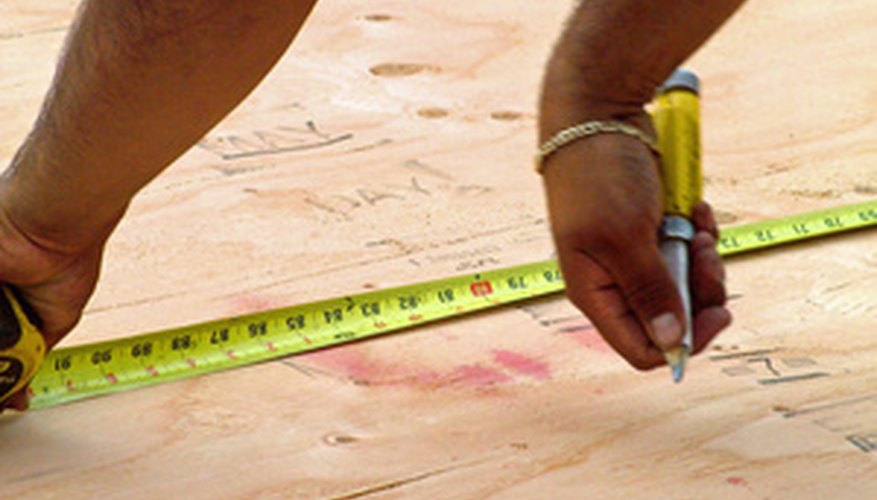 Measure and cut your wood frame pieces.