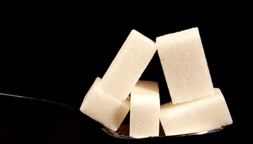 Sucrose, or table sugar, is a combination of two simple sugars: glucose and fructose.