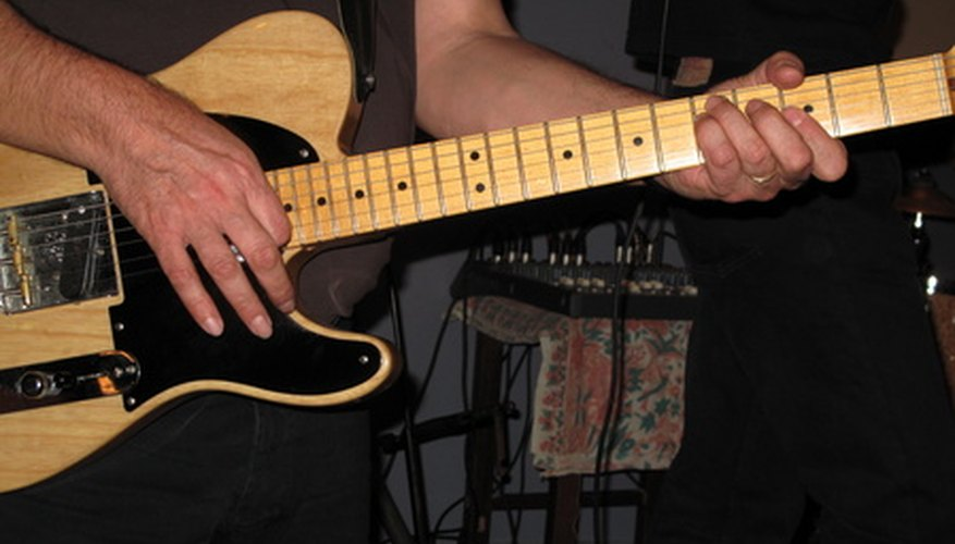 Electric guitars have been essential to ska since its inception.