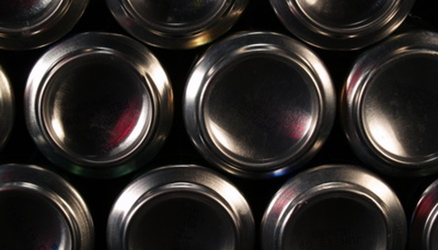 Aluminum is a common constituent of soda-pop cans.